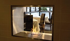 Equinox Restaurant Indoor Fireplaces Fireplace Insert Idea