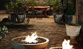 The Grounds Fire Pits Braseros éthanol Idea