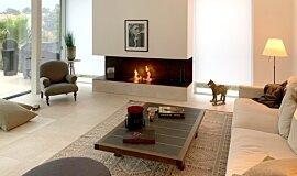 Schreinerei/Joinery Bernhard Schubert, Ebrach Indoor Fireplaces 生物乙醇燃烧器 Idea