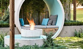AD Design Outdoor Fireplaces Ethanol Burner Idea