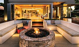 Oswald Down South Home Builder Fireplaces Ethanol Burner Idea