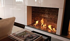Queens Gate Terrace Indoor Fireplaces Built-In Fire Idea
