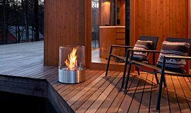 Private Residence Fire Pits Freestanding Fire Idea