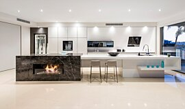 Enigma Interiors Builder Fireplaces Ethanol Burner Idea