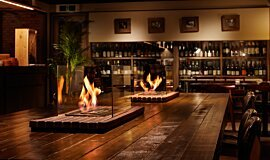 Restaurant La Cave XL Series Ethanol Burner Idea