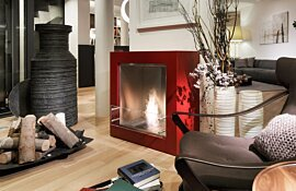 Installation Cube Design Fireplaces by EcoSmart Fire
