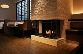 Installation Scope 340 Fireplace Inserts by EcoSmart Fire