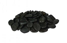 Model Large Black Pebbles  by EcoSmart Fire