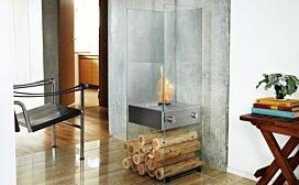 Installation Plasma Fire Screen  by EcoSmart Fire