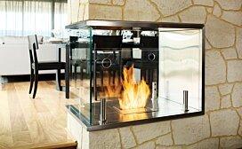 Installation Loft 8  by EcoSmart Fire