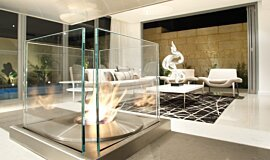David Reid Display Residential Fireplaces Ethanol Burner Idea