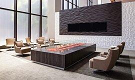 707 Wilshire Los Angeles Residential Fireplaces Ethanol Burner Idea