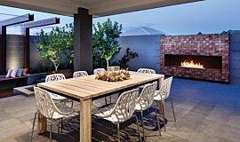 The Brindabella Residential Fireplaces Ethanol Burner Idea