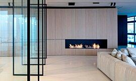 N Apartment Tel Aviv Residential Fireplaces Ethanol Burner Idea