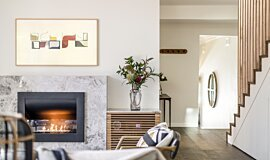 Interior Blossoms EcoSmart Fire Fireplace Insert Idea