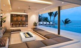 Inside Balcony Freestanding Fireplaces Fire Table Idea