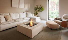 Private Residence Fire Screens Fire Table Idea