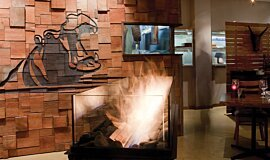 Hippo Creek African Grill Hospitality Fireplaces Ethanol Burner Idea