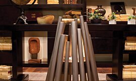 New American Home  Commercial Fireplaces Fire Pit Idea