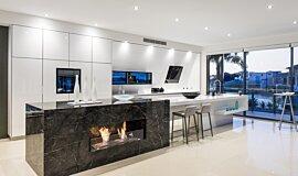 Enigma Interiors Builder Fireplaces Ethanol Burner Idea