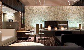 Crowne Plaza Hotel Commercial Fireplaces Fireplace Insert Idea