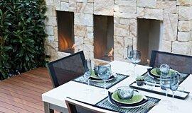 Melbourne International Flower and Garden Show Commercial Fireplaces Fireplace Insert Idea