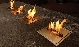 Long Room  BK Series Ethanol Burner Idea
