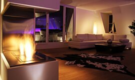 Private Residence BK Series Ethanol Burner Idea
