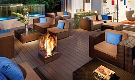 Kimber Modern Hotel Commercial Fireplaces Fire Pit Idea