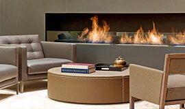 St Regis Hotel Lobby Commercial Fireplaces Ethanol Burner Idea