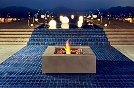 Base Centrepiece Fireplace - In-Situ Image by EcoSmart Fire