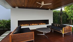 Flex 122SS.BX2 Flex Fireplace - In-Situ Image by EcoSmart Fire