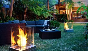 Mini T Fire Pit - In-Situ Image by EcoSmart Fire