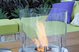Loft 3 Fireplace Screen - In-Situ Image by EcoSmart Fire
