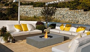 Martini Fire Table - In-Situ Image by EcoSmart Fire