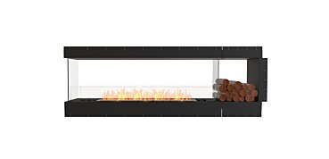 Peninsula Fireplace - by EcoSmart Fire