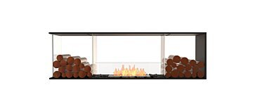 Flex 68PN.BX2 Peninsula Fireplace - Studio Image by EcoSmart Fire
