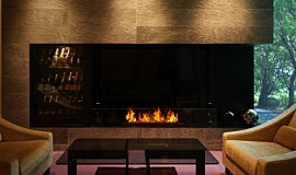 Salon de Louange Builder Fireplaces Ethanol Burner Idea