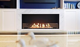 Tresor Drummoyne Single Sided Fireboxes XL Burners Flex Fireplace Idea