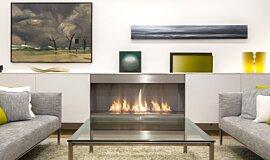 Paddington Residence Single Sided Fireboxes XL Burners Ethanol Burner Idea
