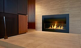 Private Residence Curved Fireplace Series Fireplace Insert Idea