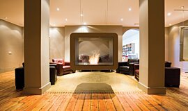 The Chapel Commercial Fireplaces Fireplace Insert Idea