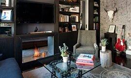 New York Loft Builder Fireplaces Fireplace Insert Idea
