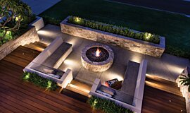 Oswald Down South Home Builder Fireplaces Ethanol Burner Idea
