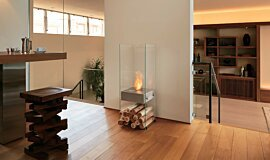 Commercial Space EcoSmart Fire Designer Fireplace Idea