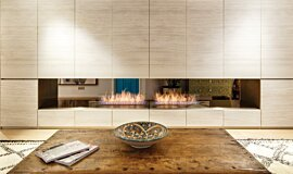Fujiya Mansions Builder Fireplaces Ethanol Burner Idea