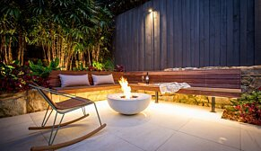 Mix 850 Fire Pit - In-Situ Image by EcoSmart Fire