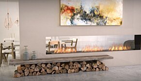Flex 122DB Flex Fireplace - In-Situ Image by EcoSmart Fire