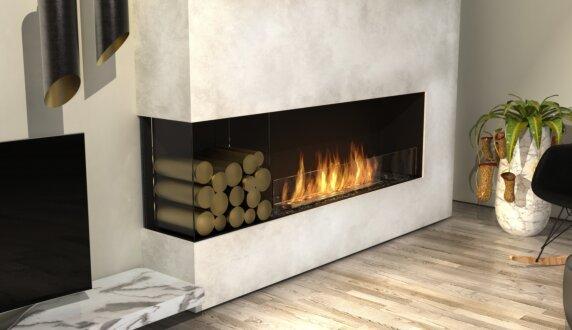 Living Room - Flex 50LC Flex Fireplace by EcoSmart Fire
