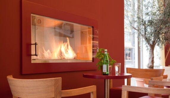 Vapiano, UK - Firebox 1200SS Fireplace Insert by EcoSmart Fire